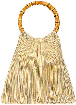 Loeffler Randall Mattie Bamboo Handle Pouch