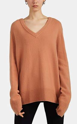 The Row Women's Elaine Wool-Cashmere Sweater - Peach