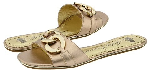 Juicy Couture - Patty (Copper Metallic Nappa)