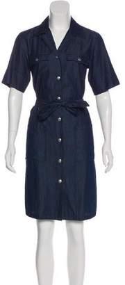 agnès b. Denim Knee-Length Dress