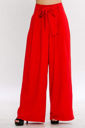 Flying Tomato Tie Front Pants
