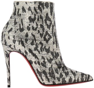 Christian Louboutin Heeled Booties So Kate Booties In Spotted Lurex Fabric