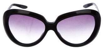Barton Perreira Socialite Gradient Sunglasses