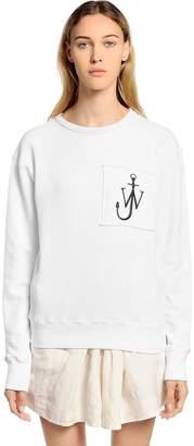 J.W.Anderson Logo Patch Cotton Sweatshirt