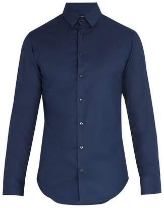 Giorgio Armani Birdseye cotton shirt