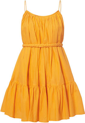 Rhode Resort Nala Yellow Mini Dress