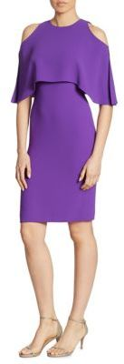 Ralph Lauren Collection Ashley Cold Shoulder Dress $1,550 thestylecure.com