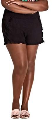 City Chic Island Holiday Shorts