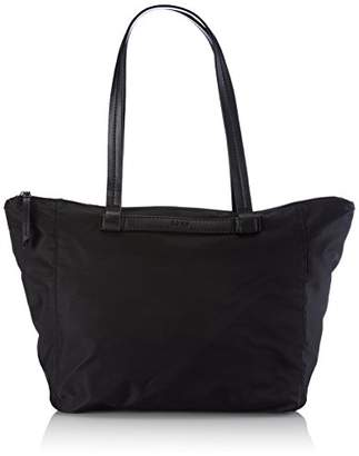 Bree Barcelona Nylon 9, Black, Zip Tote, Women's Bag,(B x H x T)