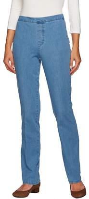 Isaac Mizrahi Live! Tall 24/7 Denim Straight Leg Jeans