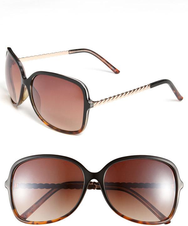 Icon Eyewear 'Kelli' Oversized Sunglasses
