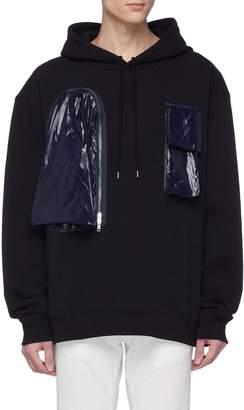 Calvin Klein Contrast chest pocket hoodie