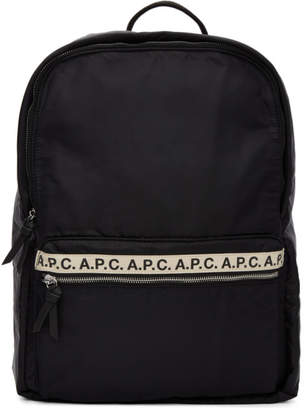 A.P.C. Black Sally Backpack