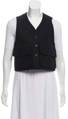 Creatures of Comfort V-Neck Button-Up Vest