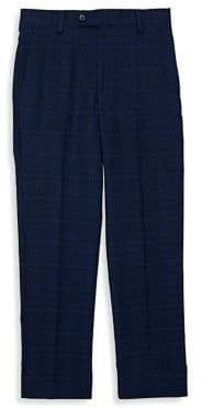 Lauren Ralph Lauren Boy's Windowpane Plaid Dress Pants