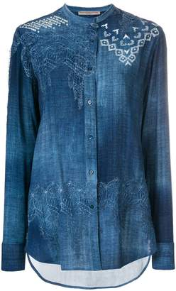 Ermanno Scervino printed shirt