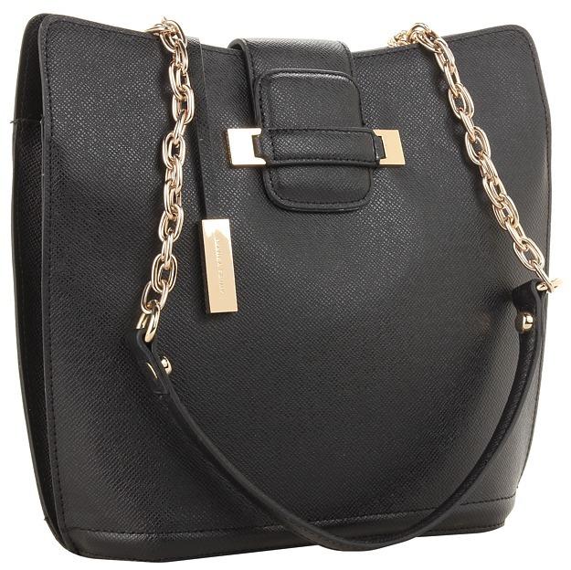 Ivanka Trump Jessica Double Shoulder (Black 1) - Bags and Luggage