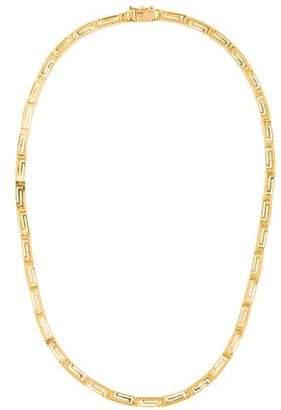 14K Greek Key Necklace