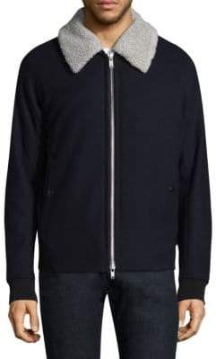 Theory Soft Melton Jacket