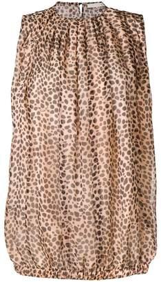 L'Autre Chose leopard print blouse