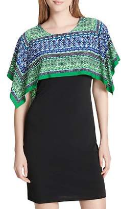 Calvin Klein Layered-Look Dress