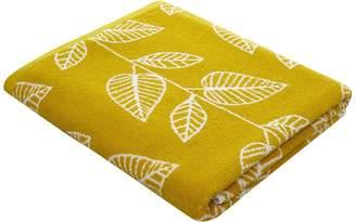 George Home 100% Cotton Leaf Print Bath Sheet