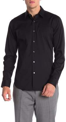 Theory Sylvain Percise Long Sleeve Woven Shirt