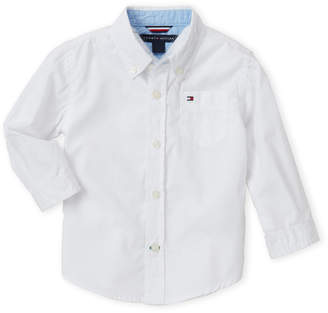 Tommy Hilfiger Infant Boys) White Classic Shirt