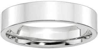 Generic 10KW 5mm Standard Flat Comfort Fit Band Size 7