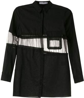 M·A·C Mara Mac panelled shirt