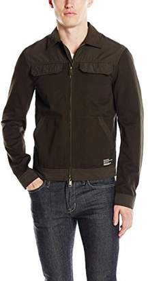 Armani Exchange A|X Men's 4 Pocket Collared Twill Jacket