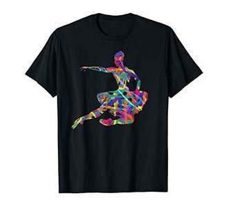 Ballet Dance Ballerina Silhouette Shirt TShirt Girl