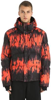 Oversized Strato K2 Shibori Down Jacket