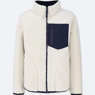 Uniqlo Boy's Windproof Fleece Jacket