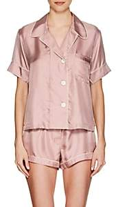 Araks Women's Shelby Silk Pajama Top - Pink