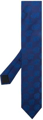 Gucci roaring tiger patterned tie