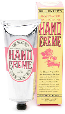 Caswell-Massey Rosewater & Glycerine Hand Creme 2.5 oz (74 ml)