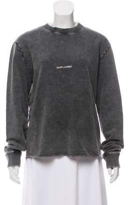 Saint Laurent 2018 Logo Sweatshirt