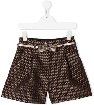 MonnaLisa Jacquard shorts
