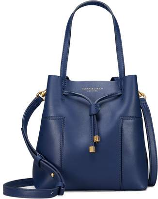 Tory Burch BLOCK-T SMALL BUCKET BAG