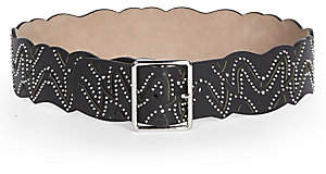 Alaia Women's Studded Leather Belt