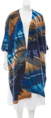 Raquel Allegra Wool Tie-Dye Cardigan w/ Tags
