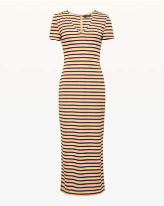 Juicy Couture Multicolor Stripe Dress