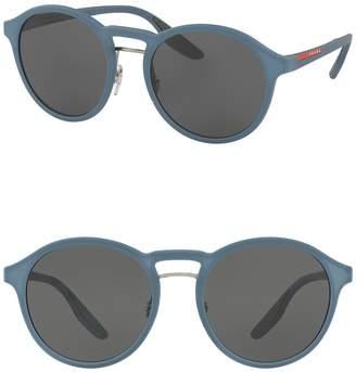 Prada Linea Rossa 53mm Phantos Opal Sunglasses