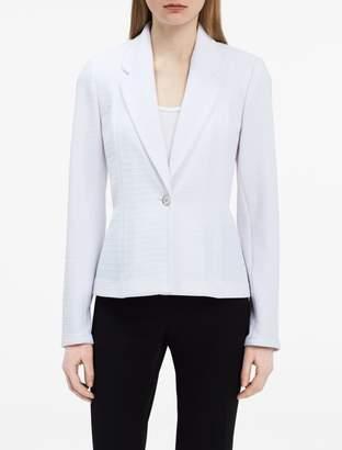 Calvin Klein textured knit jacket