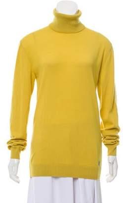 Versace Virgin Wool Turtleneck Sweater w/ Tags