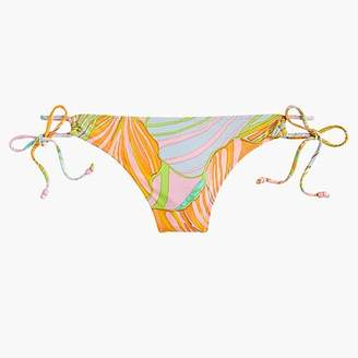 J.Crew Playa printed Malibu side-tie bikini bottom
