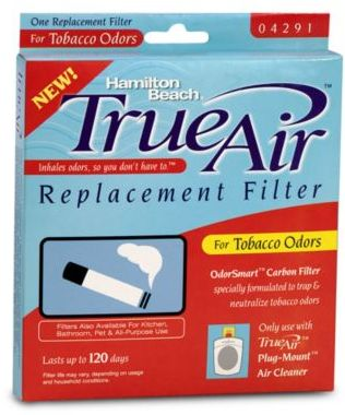 Hamilton Beach® True Air® Plug-Mount® Odor Eliminator Replacement Tobacco Filter
