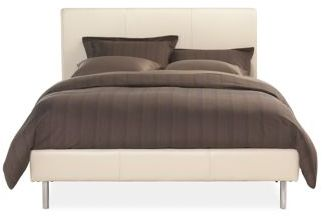 Jackson King Bed in Bison Leather