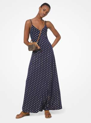 d9f2c0413ae MICHAEL Michael Kors Medallion Foil Print Matte-Jersey Dress